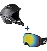 Hot Stuff Set: Comache 2 Skihelm + Revo Skibrille