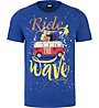 Hot Stuff Ride Wave - T-Shirt - Herren, Blue
