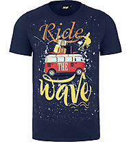 Hot Stuff Ride Wave - T-shirt - uomo, Dark Blue