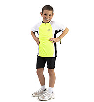 Hot Stuff Road Jersey Kid - Radtrikot - Kinder, Yellow/White