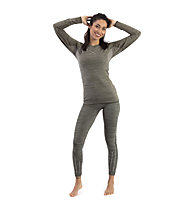 Hot Stuff Set Long Seamless W - Unterwäsche Set - Damen, Grey