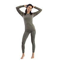 Hot Stuff Set Long Seamless W - completo intimo - donna, Grey