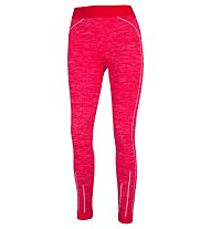 Hot Stuff Set Long Seamless W - completo intimo - donna, Red