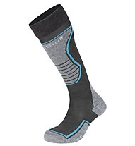 Hot Stuff Ski Basic Adult Calze sci 2 paia, Grey/Blue