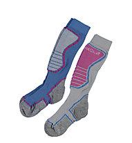 Hot Stuff Ski Basic Kids 2Pack, Blue/Pink/Grey