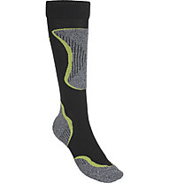 Hot Stuff Ski Comfort - calze da sci - uomo, Black/Yellow
