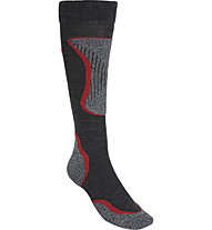 Hot Stuff Ski Comfort - calze da sci - uomo, Grey/Red