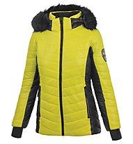 Hot Stuff Ski HS W - giacca da sci - donna, Yellow/Black