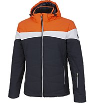 Hot Stuff Ski JKT Man - giacca da sci - uomo, Blue/Orange