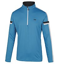 Hot Stuff Ski Layer HS Langarmshirt für Ski Alpin, Light Blue/White