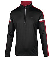 Hot Stuff Ski Layer HS Langarmshirt für Ski Alpin, Black/Red