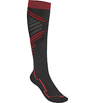 Hot Stuff Ski Racing - calzini lunghi da sci, Black/Red