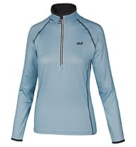 Hot Stuff Ski Shirt Stretch HS - maglia da sci - donna, Light Blue/Black