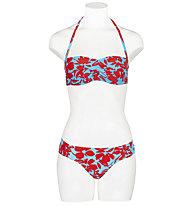 Hot Stuff Badeslip - Damen , Blue/Red