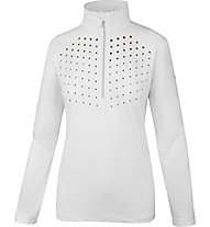 Hot Stuff Solidshirt - Skipullover - Damen, White