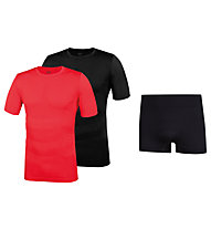Hot Stuff Sommerset Men Unterwäsche-Komplet, Black/Red