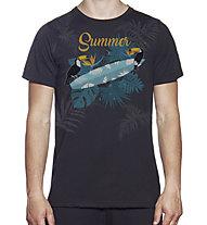 Hot Stuff Summer Surf - T-Shirt - Herren, Black