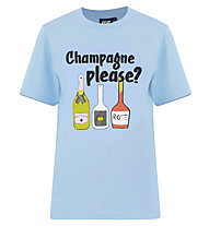 Hot Stuff T-S SS Champagne - T-Shirt - Herren , Blue