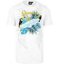 Hot Stuff Summer surf - T-shirt - uomo, White
