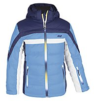 Hot Stuff Boy Tommy Kinder Skijacke mit Kapuze, Light Blue