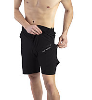Hot Stuff Tour Short - Radhose - Herren, Black