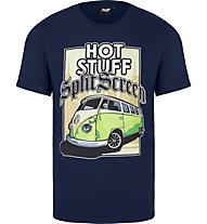 Hot Stuff Travel - T-Shirt - Herren, Blue