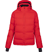 Hot Stuff Uni W - Skijacke mit Kapuze - Damen, Red
