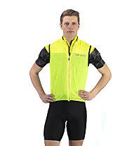 Hot Stuff Wind - gilet bici - uomo, Yellow