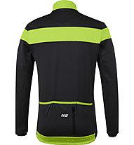 Hot Stuff Winter - giacca bici - uomo, Black/Yellow