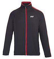 Hot Stuff Winter Jersey - langärmliges Radtrikot - Herren, Black/Red