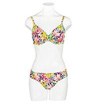 Hot Stuff Zebra Flower - slip costume - donna , Yellow/Pink/Black