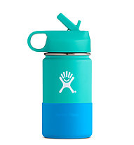Hydro Flask 12oz Kids Wide Mouth (0,355 L) - Trinkflasche/Thermos, Light Green