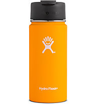 Hydro Flask Wide Mouth 0,473 L with Hydro Flip - Thermosflasche, Orange