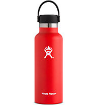 Hydro Flask Standard Mouth 0,532 L - Trinkflasche, Red