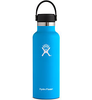 Hydro Flask Standard Mouth 0,532 L - Trinkflasche, Blue