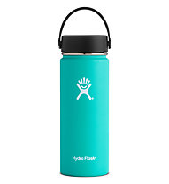 Hydro Flask 18oz Wide Mouth (0,532L) - Trinkflasche/Thermos, Light Green