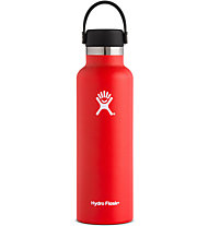 Hydro Flask Standard Mouth 0,621 L - Trinkflasche, Red