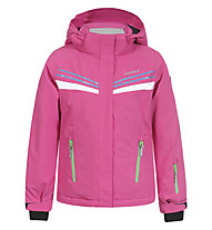 Icepeak Hedia JR Kinder Skijacke mit Kapuze, Pink