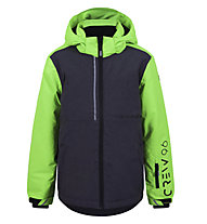 Icepeak Henri - Skijacke - Kinder, Grey/Green