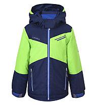 Icepeak Jamie - Skijacke - Kinder, Blue/Green