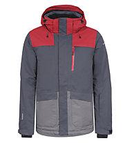 Icepeak Kanye - giacca da sci - uomo, Red/Grey