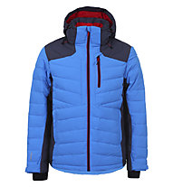 Icepeak Kelson - Skijacke - Herren, Light Blue/Red