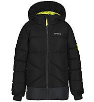 Icepeak Loudon - giacca da sci - bambino, Black/Yellow