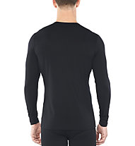 Icebreaker 200 Oasis LS C Single Line Ski - maglietta tecnica - uomo, Black