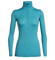 Icebreaker 200 Oasis Sky Paths - maglietta tecnica - donna, Light Blue