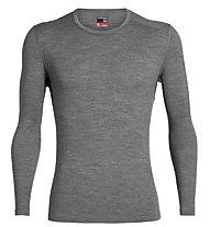 Icebreaker 260 Tech Crewe - maglietta tecnica - uomo, Grey
