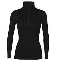 Icebreaker 260 Tech Long - Funktionsshirt - Damen, Black