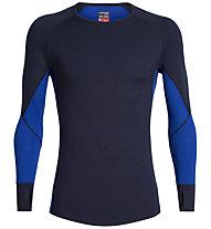 Icebreaker 260 Zone - maglietta tecnica a maniche lunghe - uomo, Dark Blue
