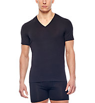 Icebreaker Anatomica V - shirt funzionale - uomo, Black