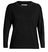 Icebreaker Cool-Lite™ Kinetica Crewe - Langarmshirt - Damen, Black